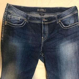 Silver Suki plus size jeans